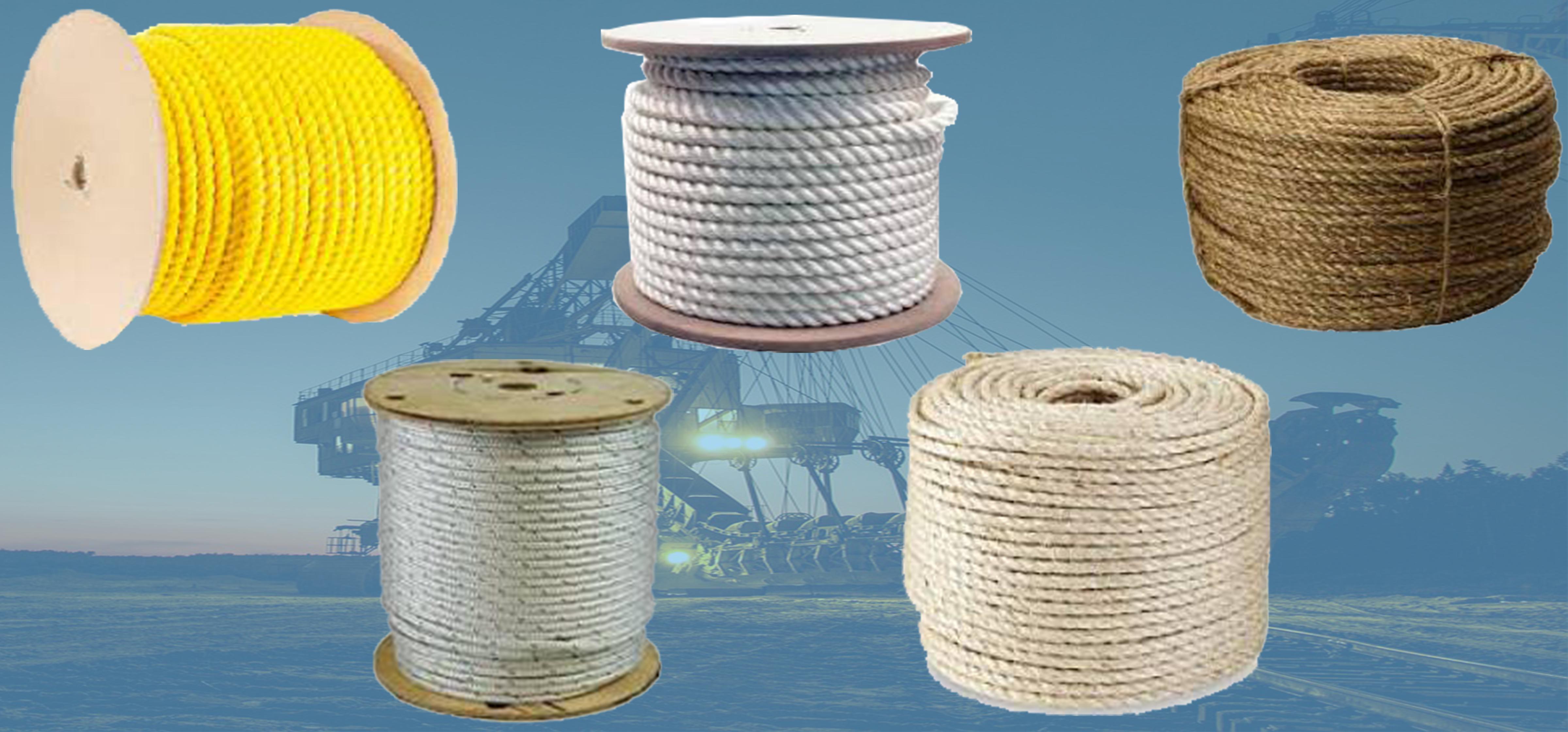 Sisal Rope > Fiber Ropes: Nylon, Sisal, Manila, Poly & More