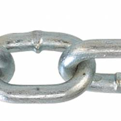 Grade 30 Proof Coil Chain Zinc
