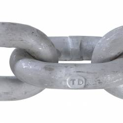 Grade 30 Proof Coil Chain Hot Dipped Galvanized